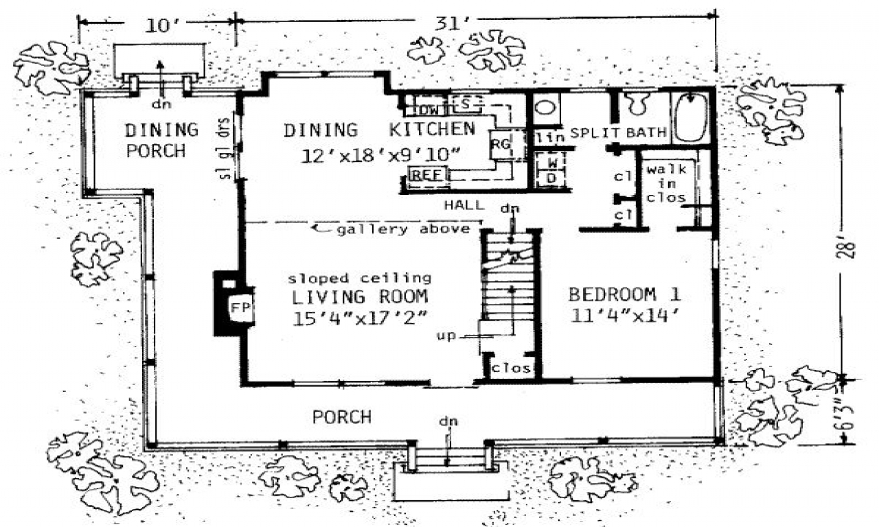 1300 square foot house plans simple small house floor for Simple square house design