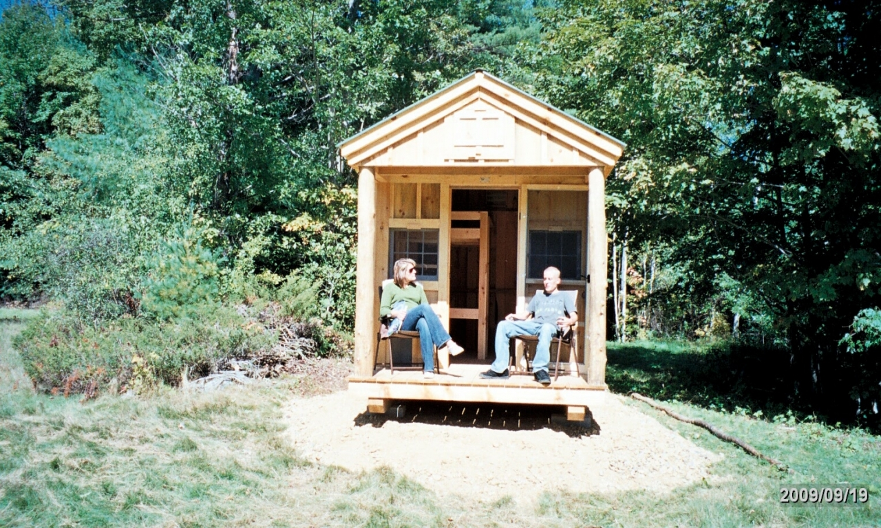 Building a small hunting camp hunting cabin plans and for Hunting cabin plans free