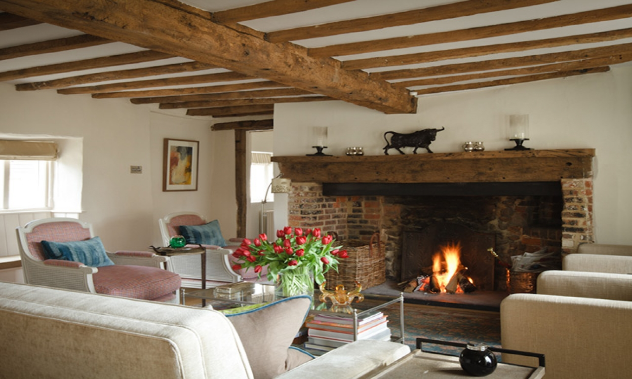 Country cottage interior designs french country cottage for Country cottage kitchen ideas