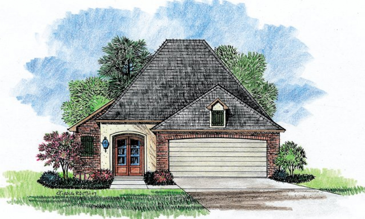 Country Style House Plans French Zero