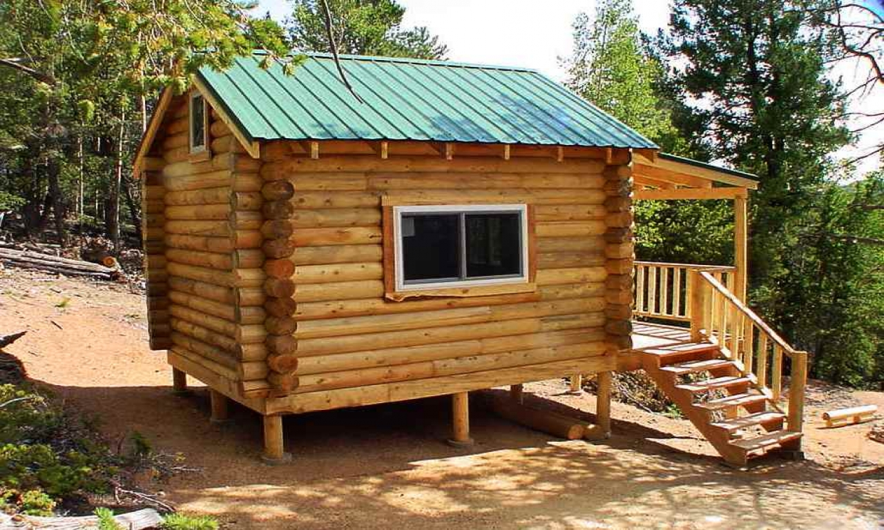 Pre built log cabins small log cabin kits simple log for Cottage cabin kits