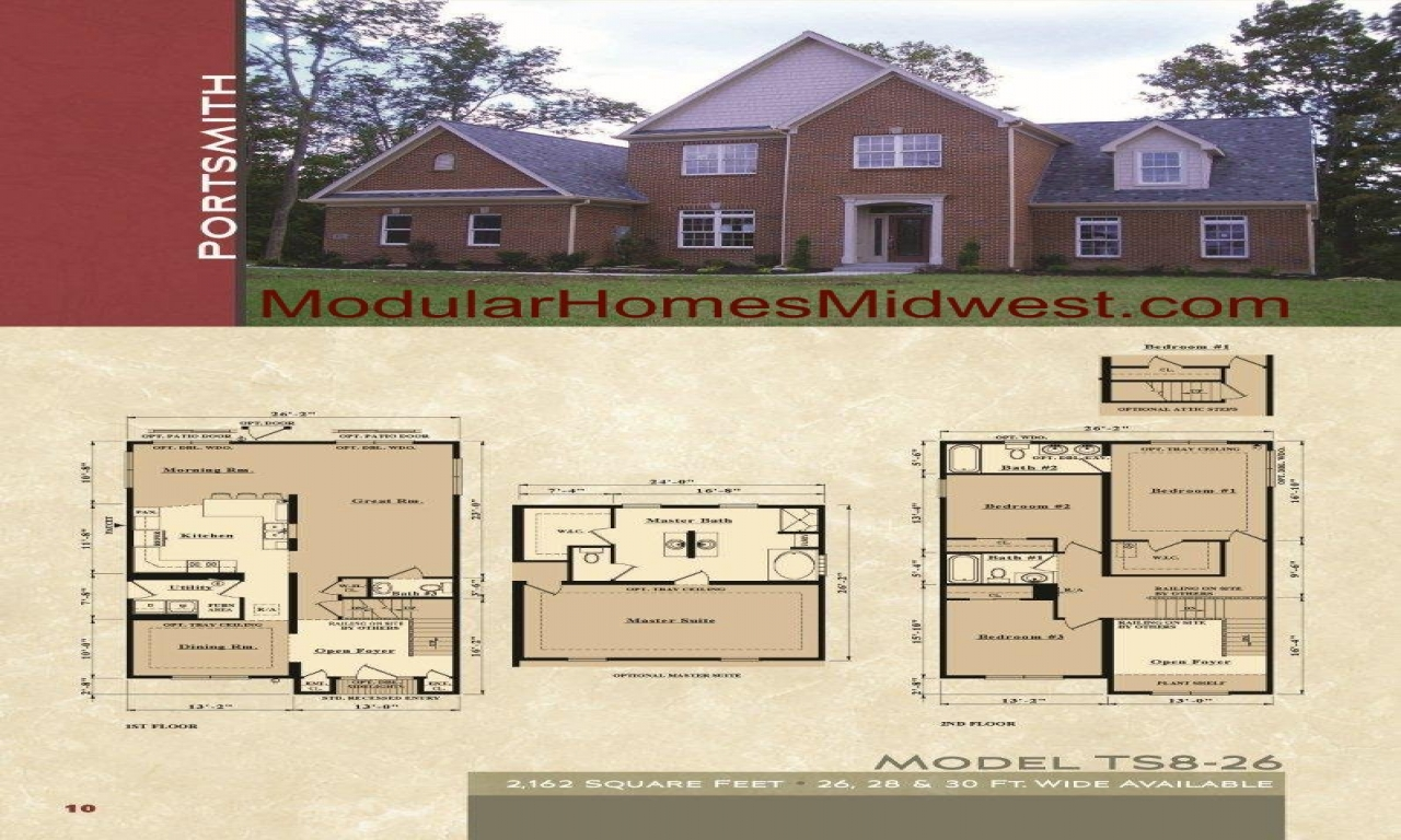 Story Modular Home Floor Plans Clayton Two