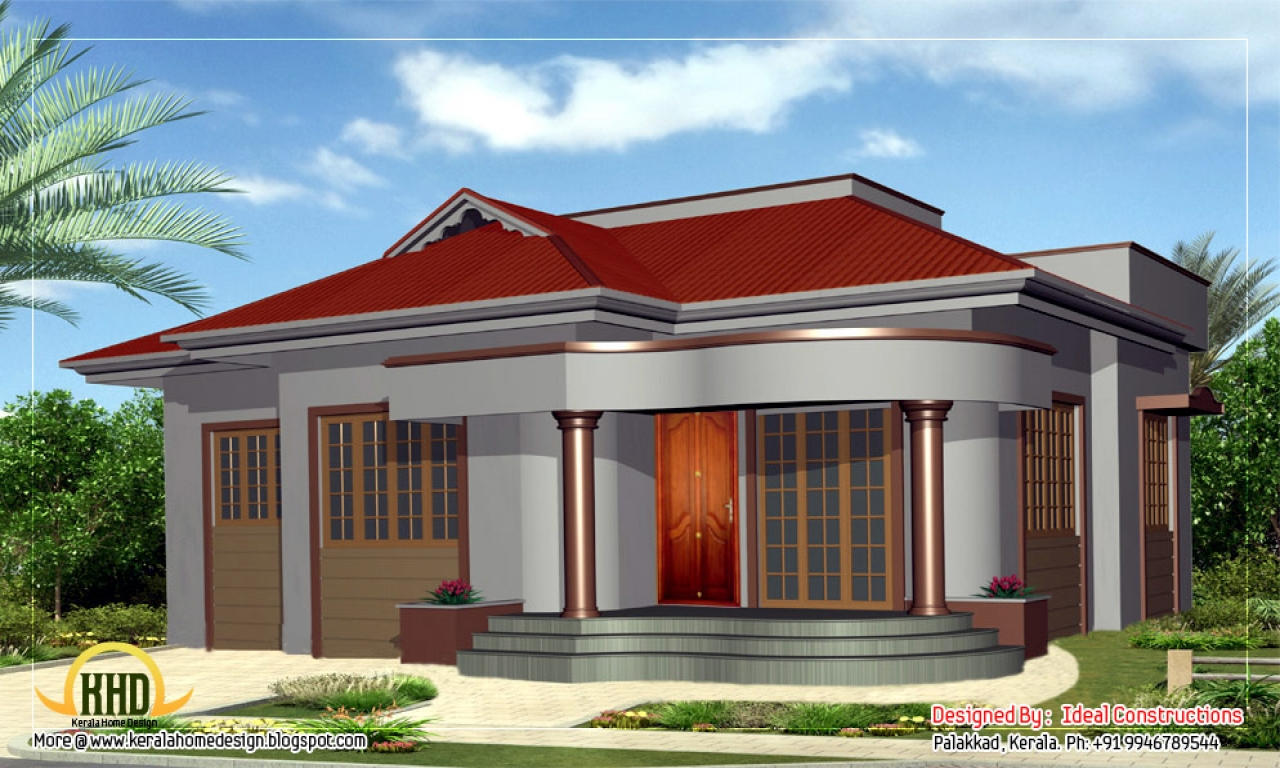 Beautiful house plans beautiful single story house design for Beautiful house designs and plans
