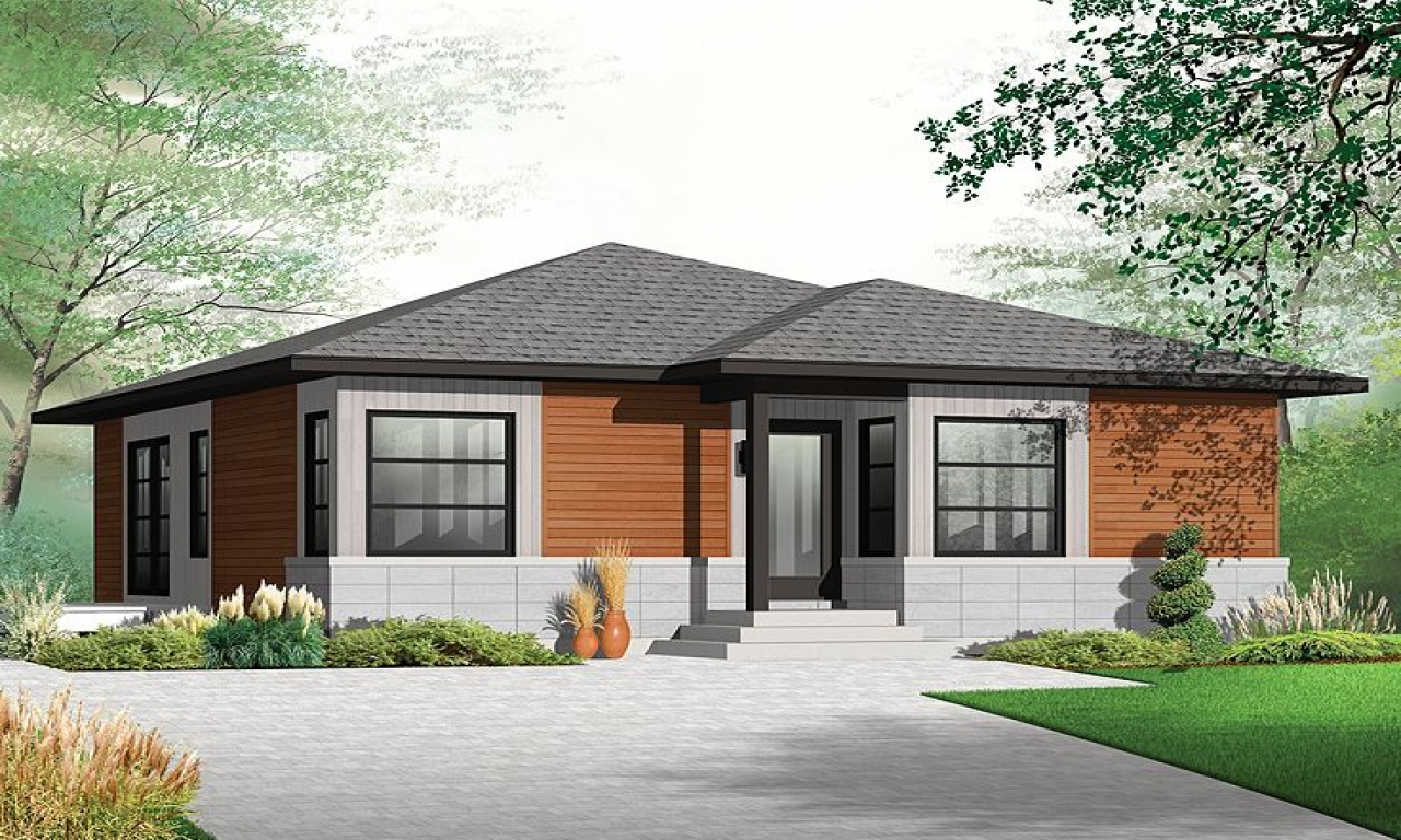 Cute Small Unique House Plans Small Modern Bungalow House ...