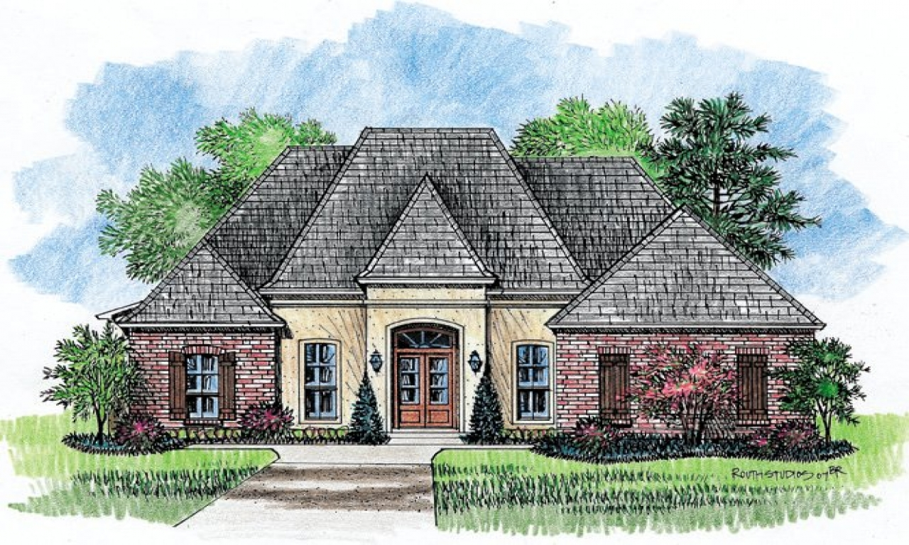 French country home plans country southern house plans for Southern country home plans