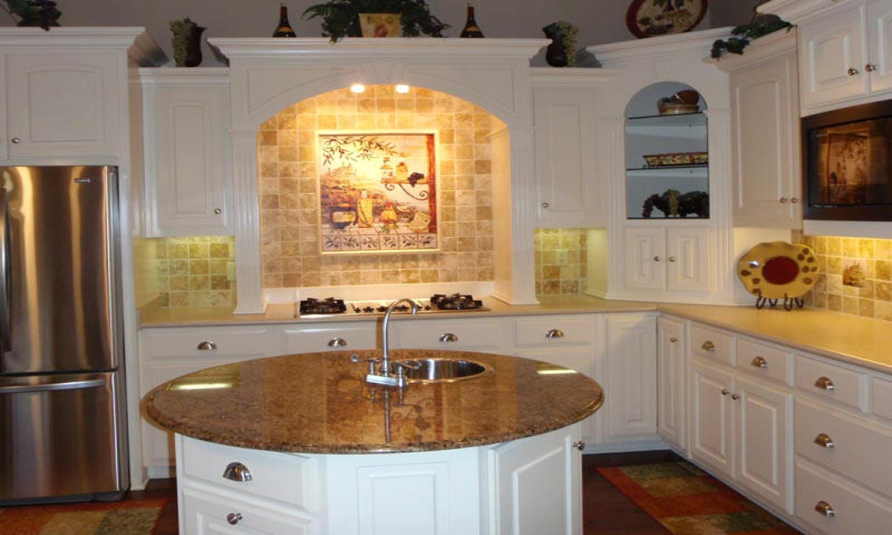 Kitchen Backsplash Ideas With White Cabinets Kitchen