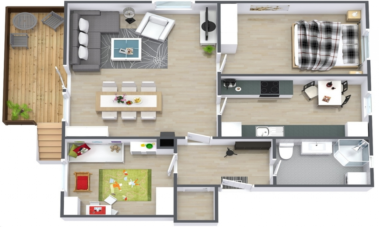 Simple floor plans 2 bedroom 2 bedroom house floor plans for 02 bedroom house plan