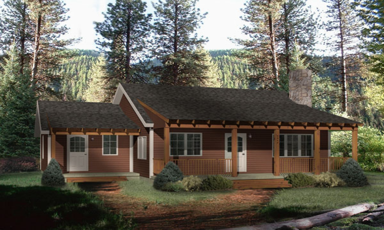 Small rustic cabin house plans modern rustic small cabin for Modern cabin house plans