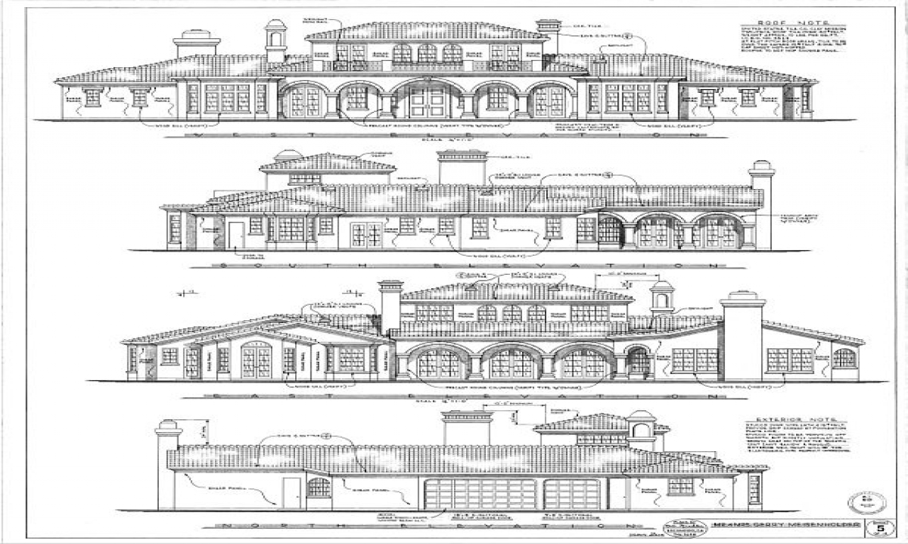 Elevation D Un Plan Archi : Architecture drawings plan elevation drawing house