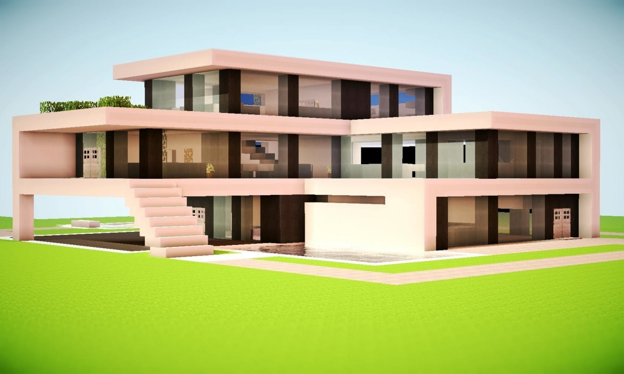 Build Modern Minecraft House Minecraft Cave House Ideas ...