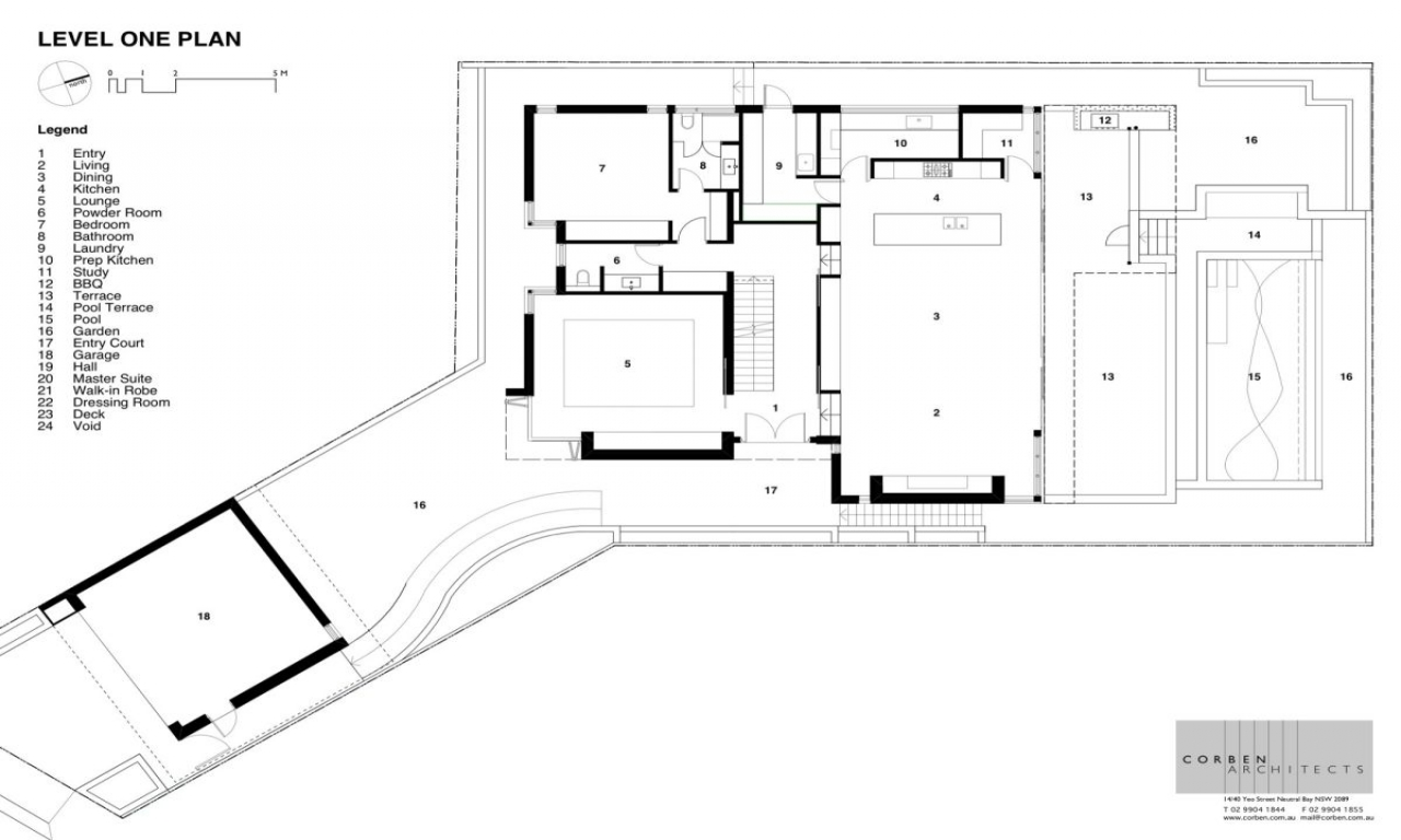 Contemporary house floor plan design contemporary small for Small house floor plan ideas