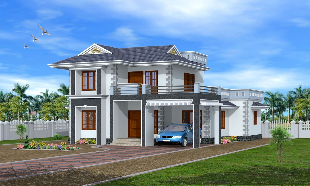 Kerala home design exterior kerala house plans and designs for New home design ideas kerala