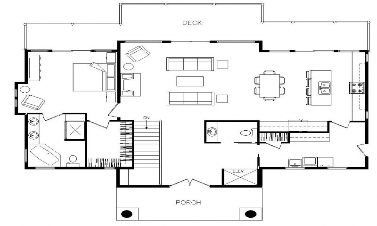 Modern architecture floor plans modern residential for Floor plans architecture