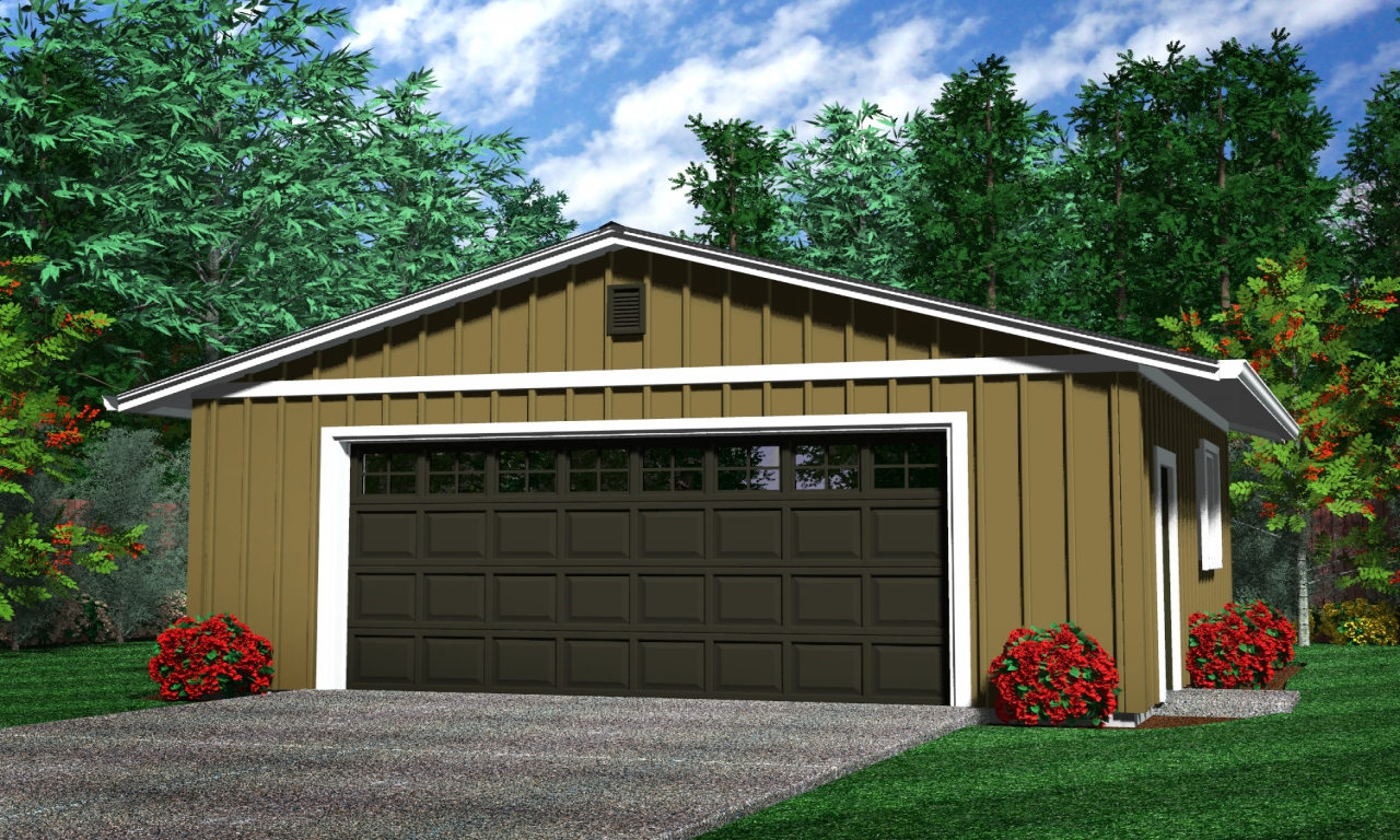 4 Car Garage With Apartment Above