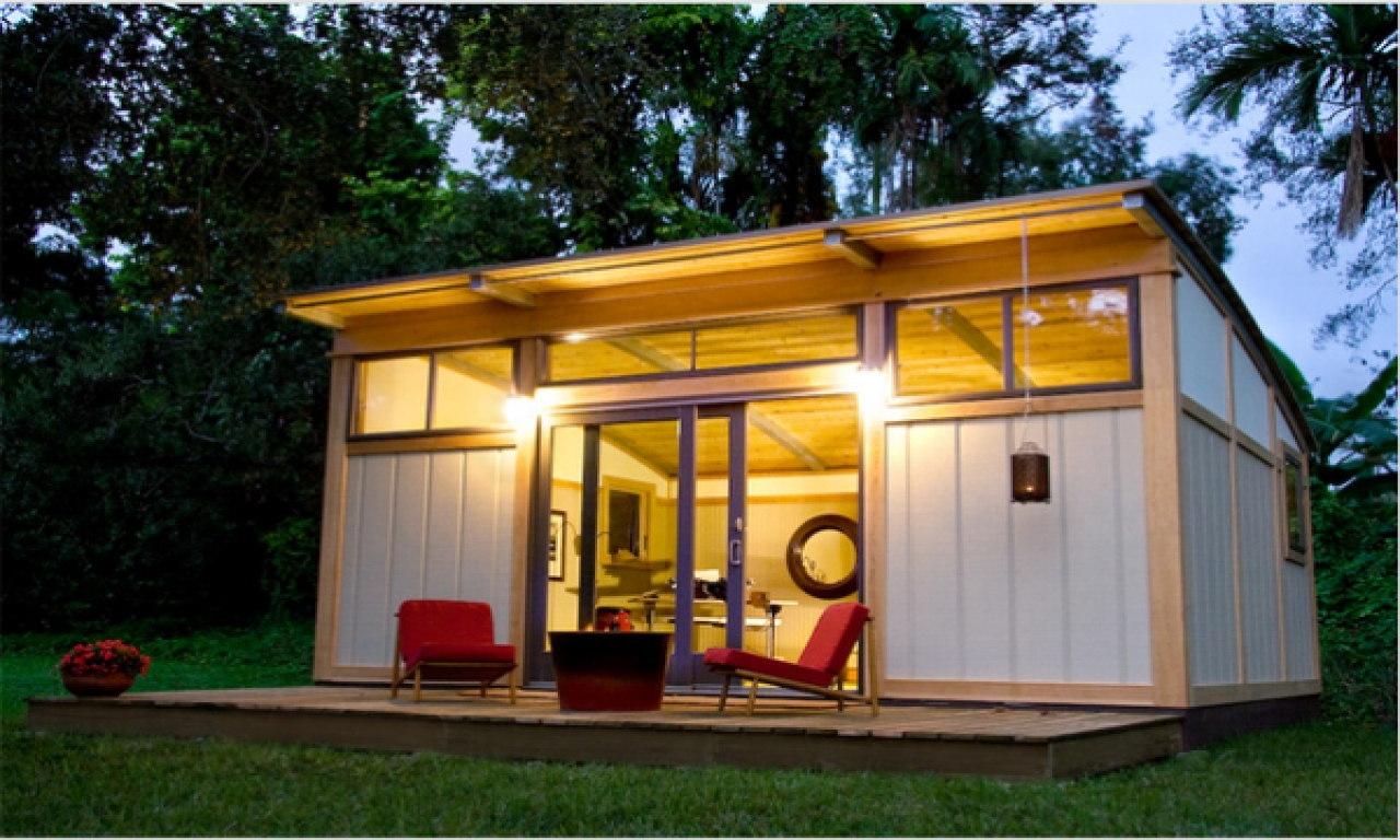 Backyard Cottage Prefab Design House Plan Affordable: Small Portable Cabins Small Prefab Cabins, Affordable