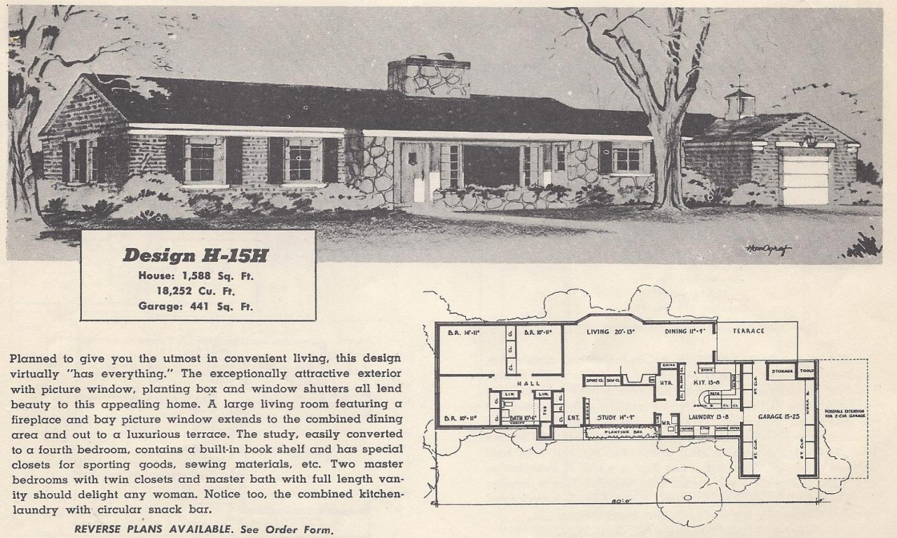 vintage ranch house floor plans vintage cowboy ranch house
