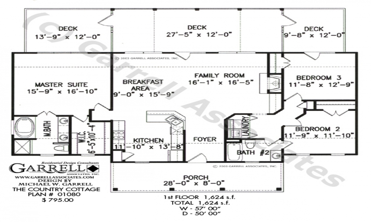 Cottage House Plans With Loft Cottage House Plans One