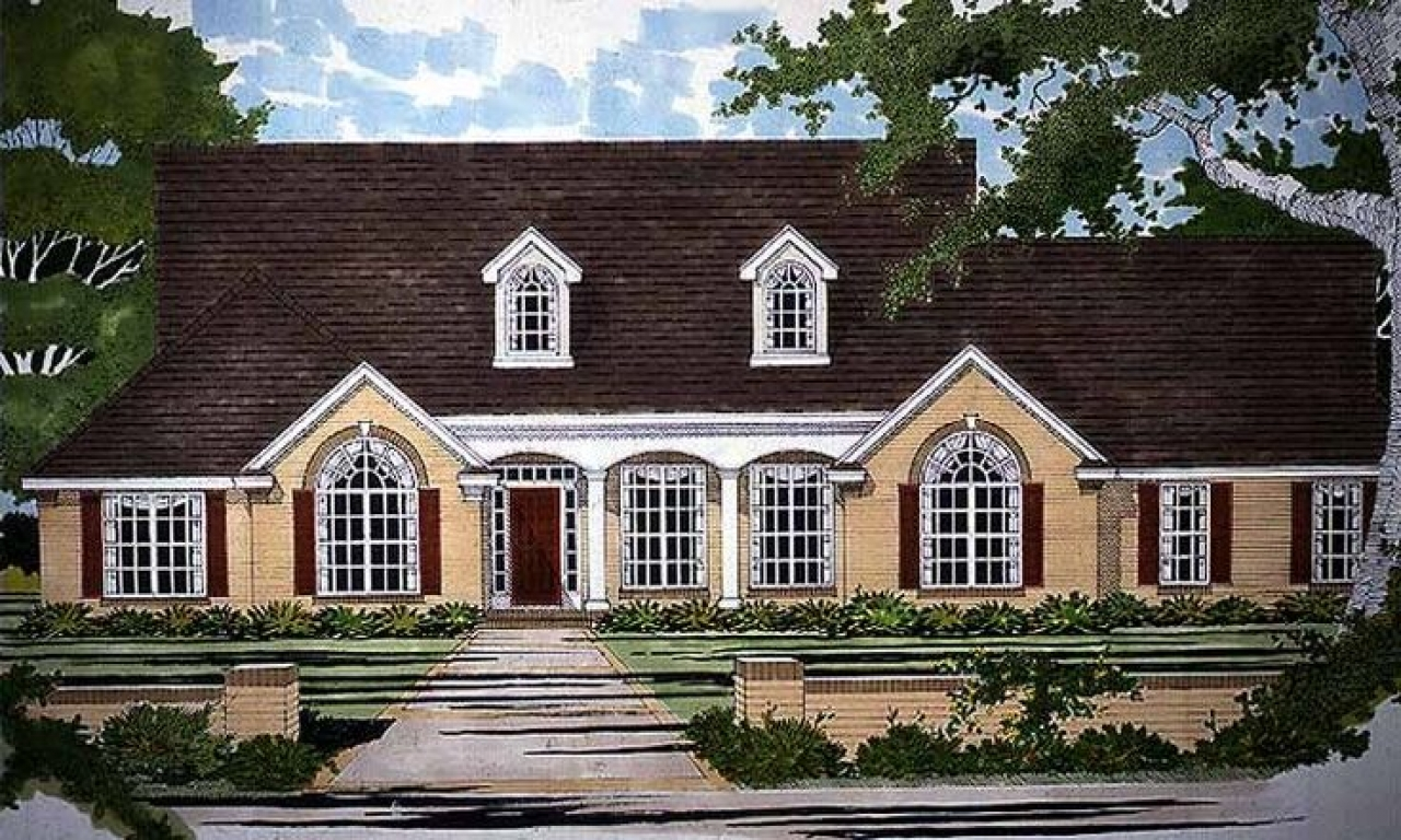 country home plans with porches eplans country house plan four bedroom country 2532 square feet. Black Bedroom Furniture Sets. Home Design Ideas