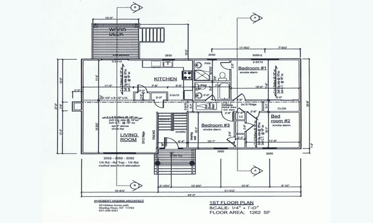 Raised ranch floor plans raised ranch floor plans 3 for Large ranch floor plans