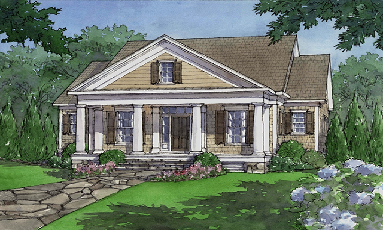 Southern living house plans house plans southern living for Southern style ranch home plans