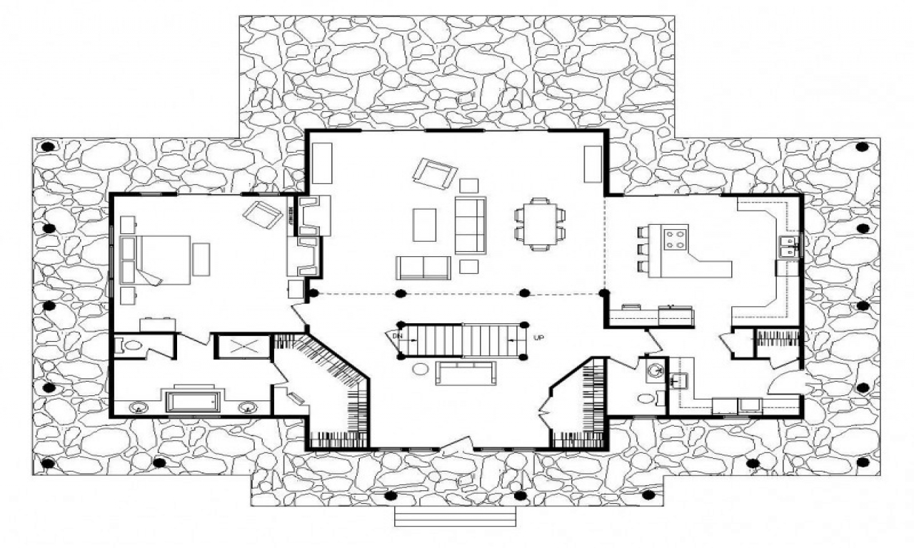 Simple Log Cabin Floor Plans Big Log Cabins Basic Log