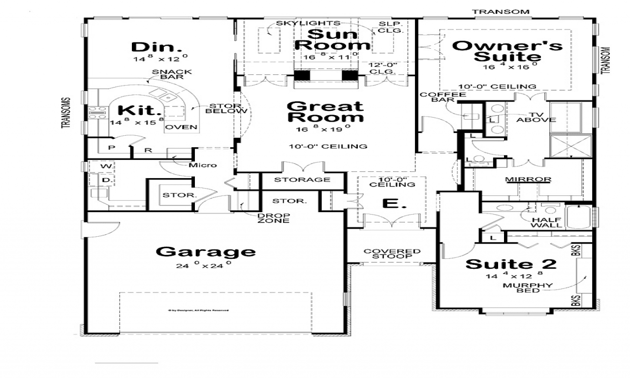 Roof Design Ideas: Modern Two Bedroom House Plans Modern House Roof, Simple