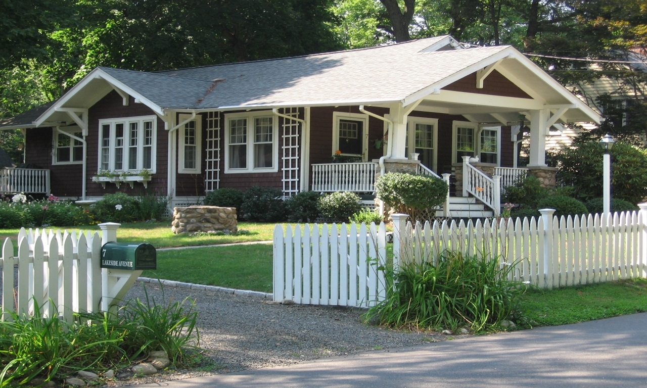 New Craftsman Style Home Plans American Bungalow Style
