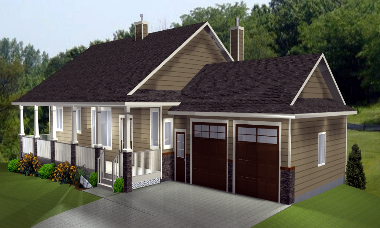 Open ranch style house plans ranch style house plans with for Open basement house plans