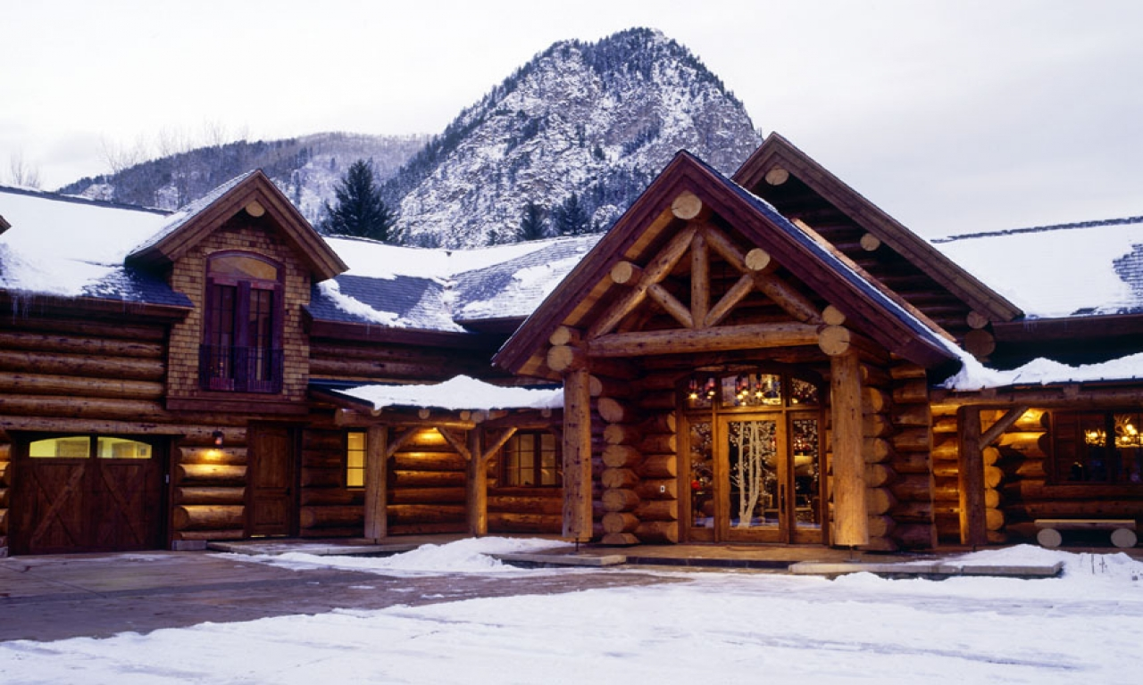 Cool log cabin homes log cabin architecture residential for Log cabin architecture