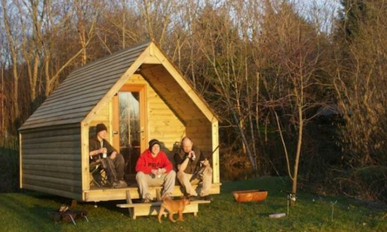 Building Small Camping Cabins Small Cabin Building Plans