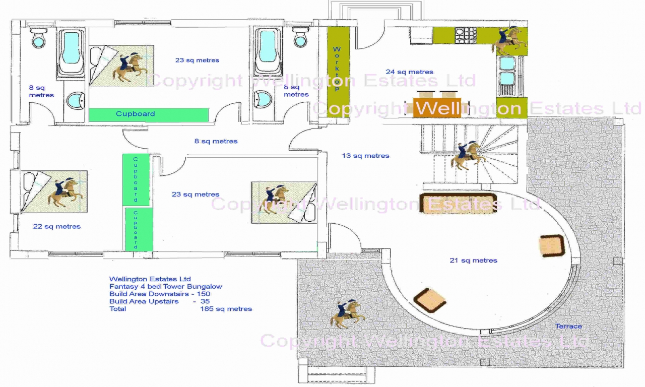 Affordable 4 Bedroom House Plans 4 Bedroom Bungalow Floor
