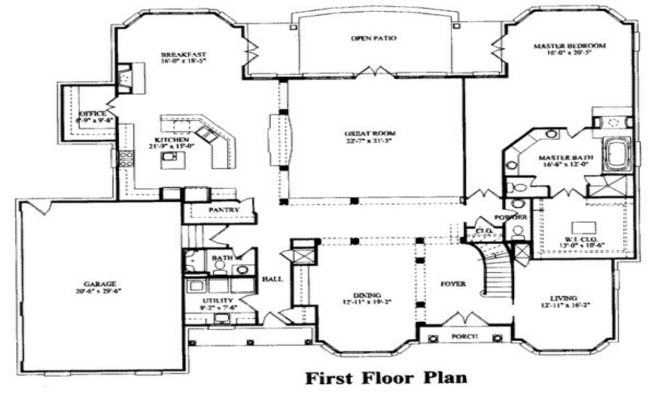 7 Bedroom House Plans 15 Bedroom House Floor Plans, 7