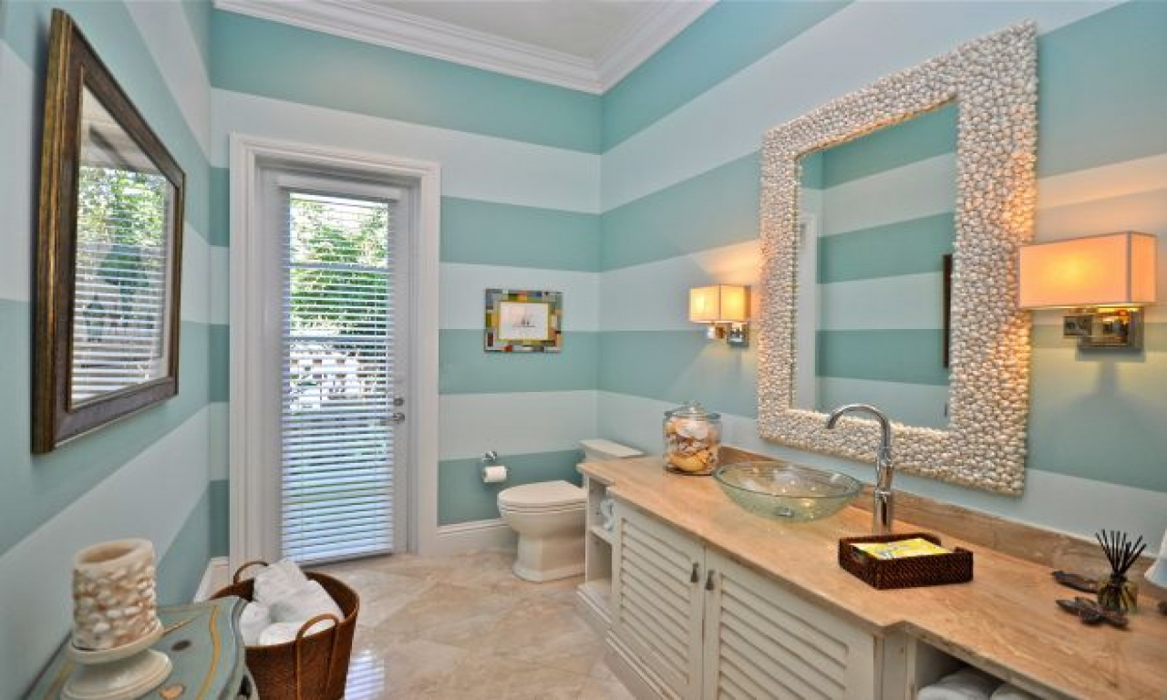 15 Beach Themed Bathroom Design Ideas: Beach Cottage Bathroom Decorating Ideas Beach Bathroom