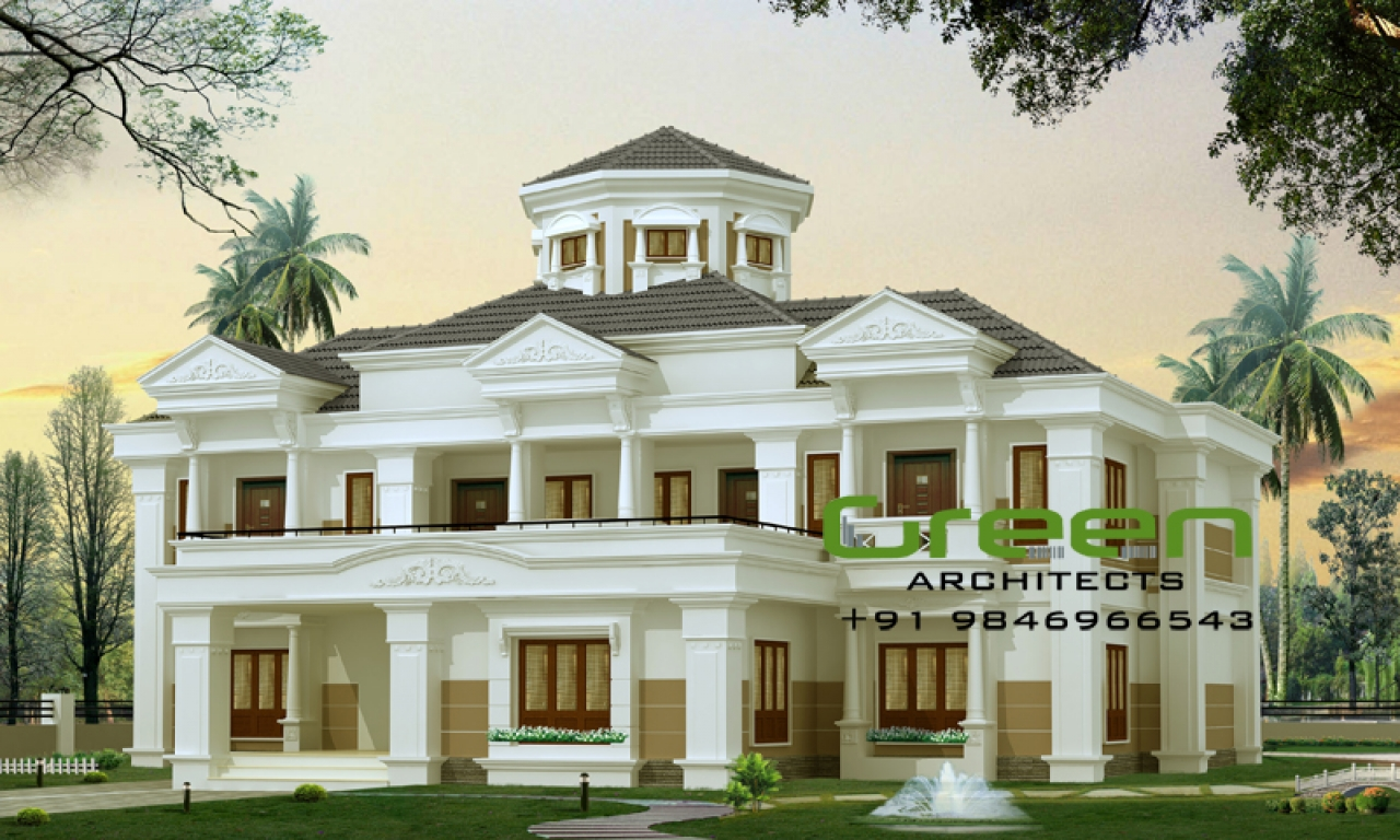 Beautiful bungalow designs indian bungalow designs for Beautiful bungalow designs