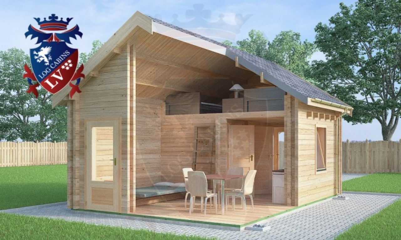 Micro a frame cabin micro log cabin micro cottages plans for A frame log cabins