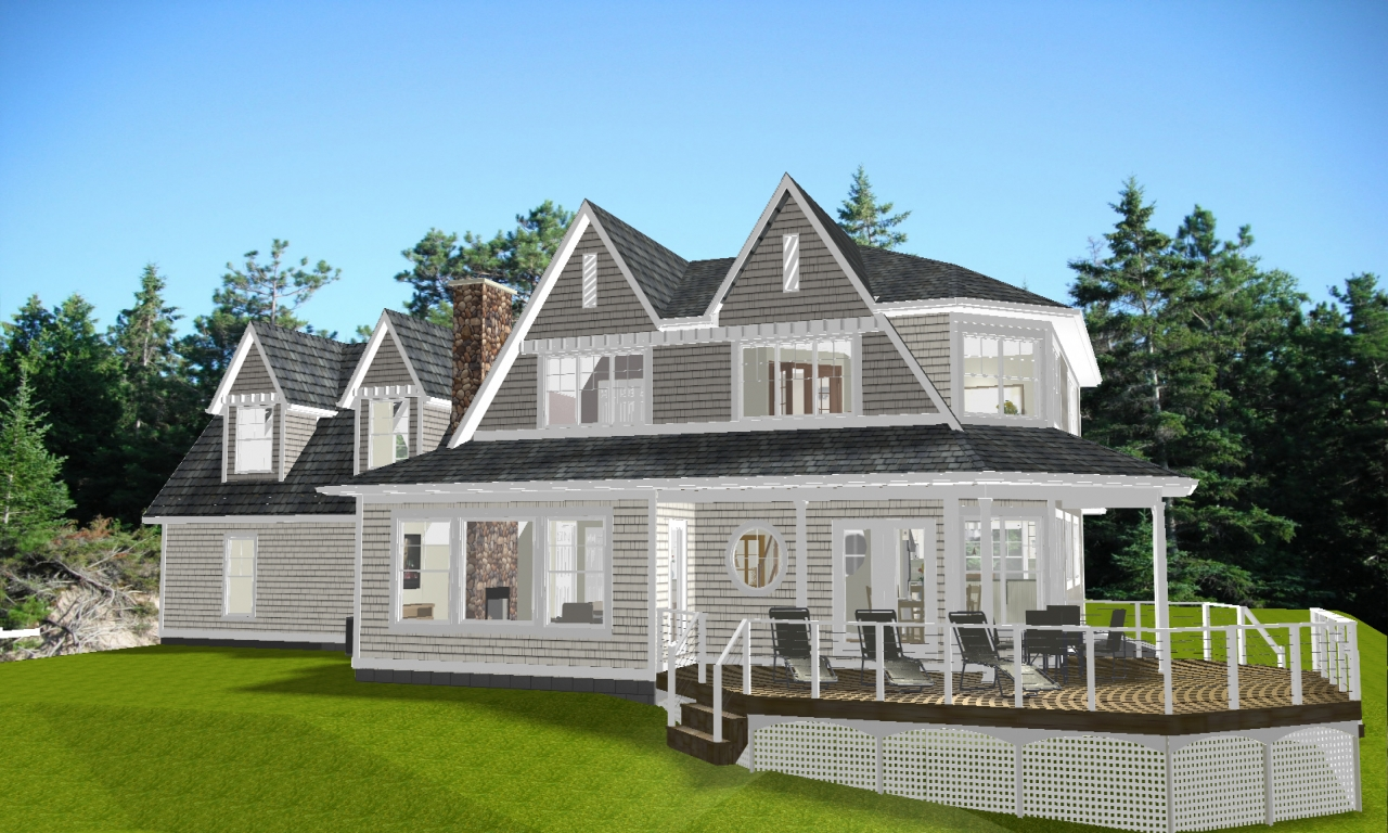 New england cottage house plans new england style house for New england house plans