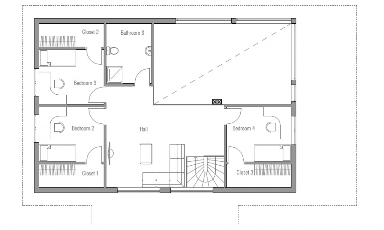Small two bedroom house plans small home building plans for 2 bedroom homes to build