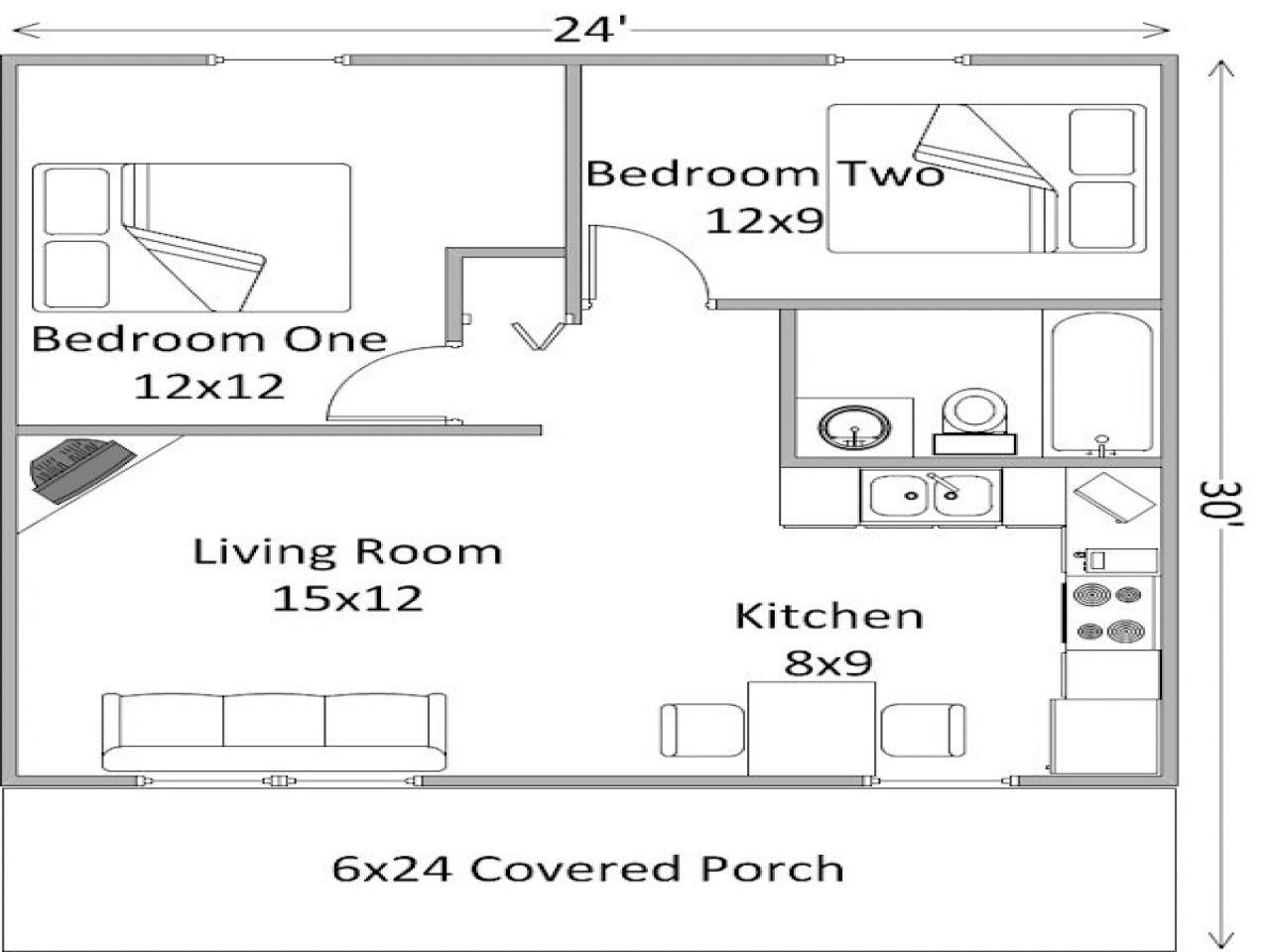 2 bedroom mobile homes 2 bedroom log cabin floor plans 2 for 2 bedroom log cabin plans