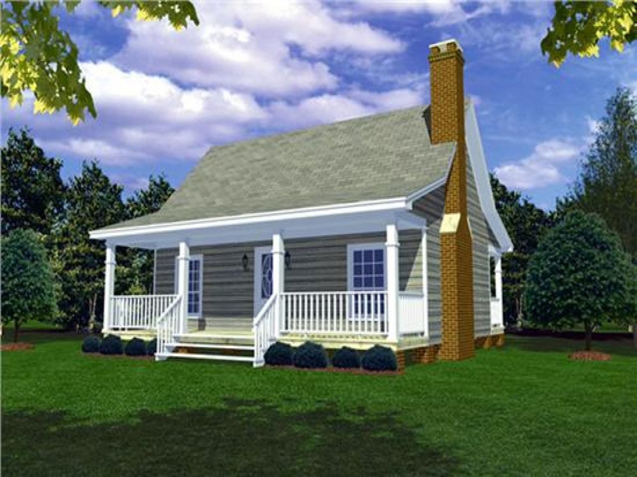 Country Home House Plans With Porches Small House Plans