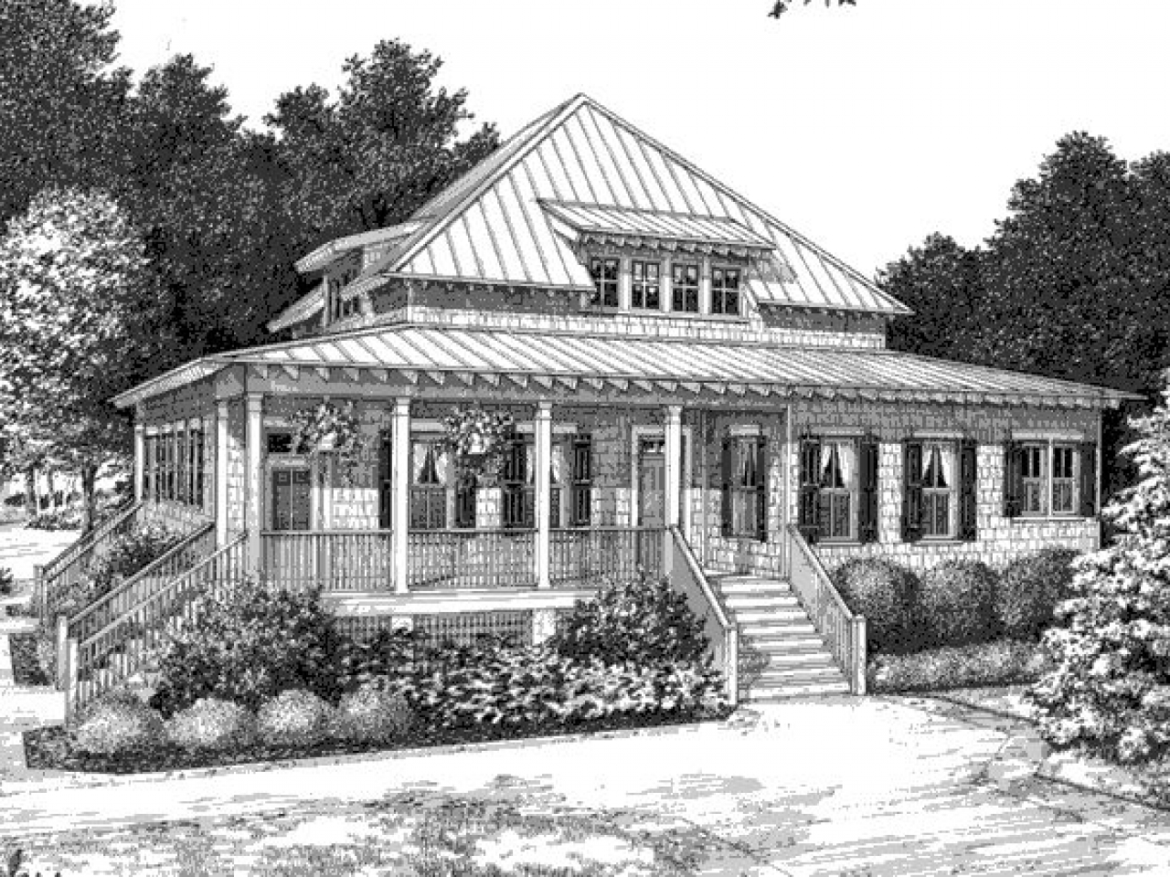 Tidewater Style Architecture Tidewater Low Country House