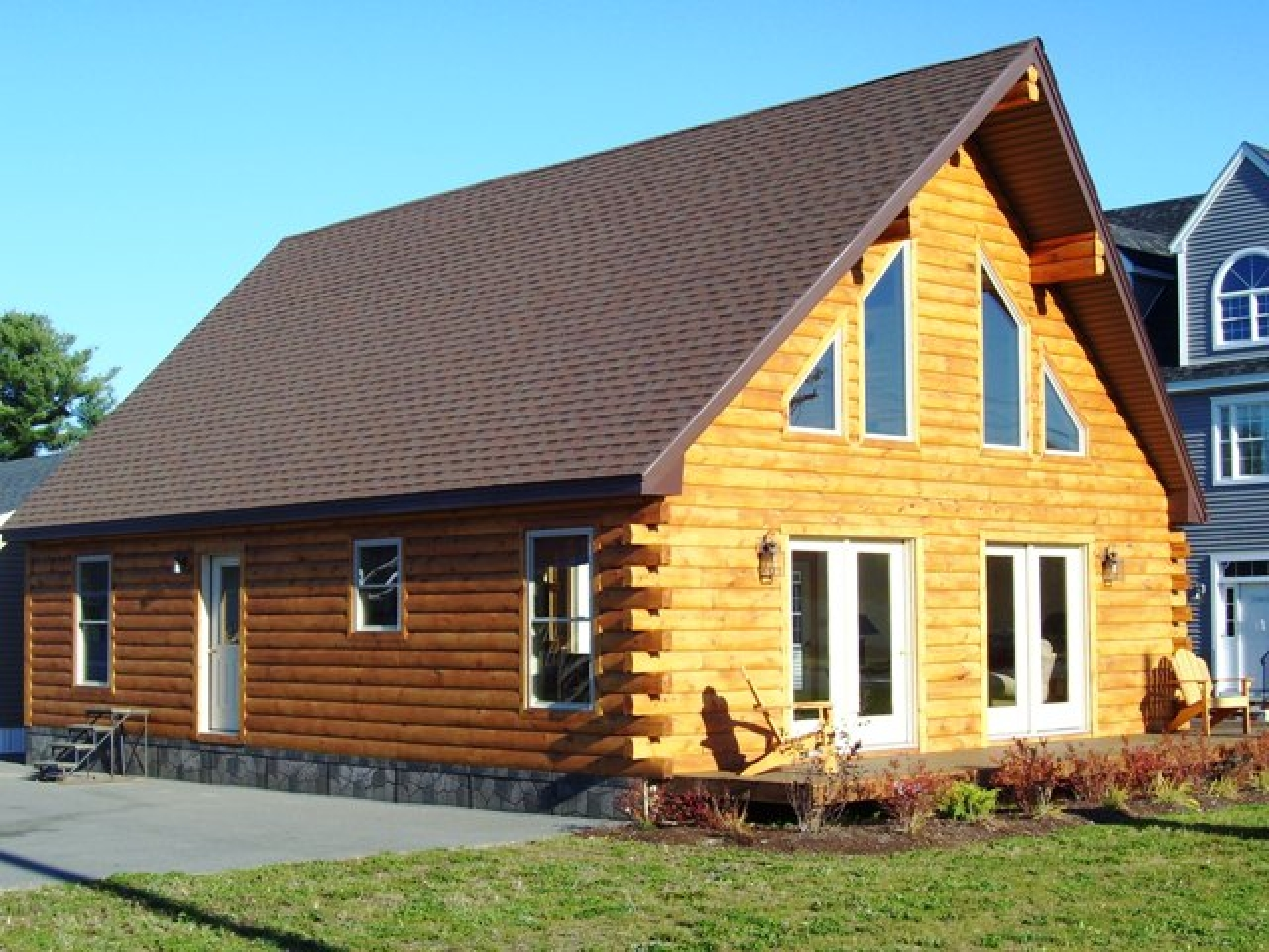 Chalet style modular homes maine chalet ranch modular for Chalet manufactured homes