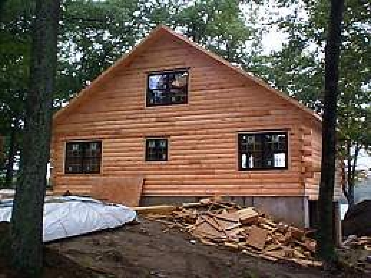 Do it yourself crafts do it yourself log cabin designs do for Easy cabin kits