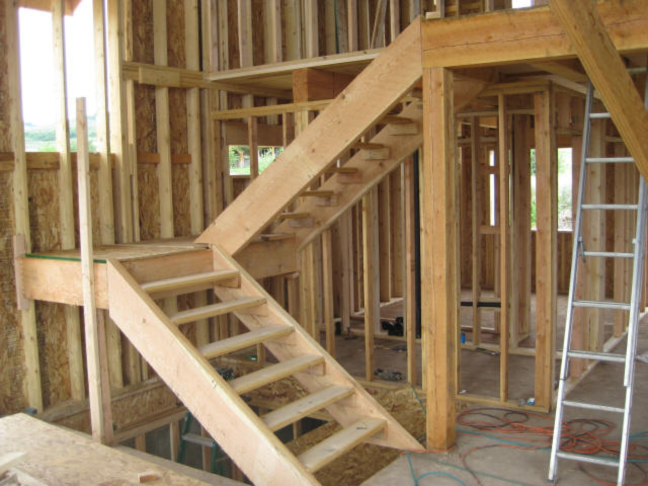 Build in a basement bedroom how to build basement stairs for Design your own cabin