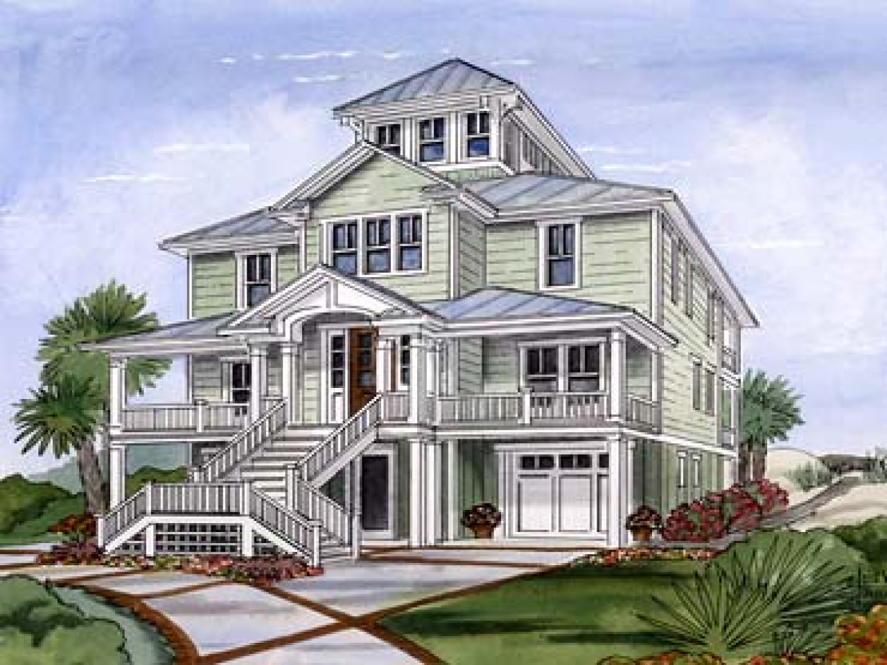 Crows nest cottage house plan weather vane house crows for Nest home design