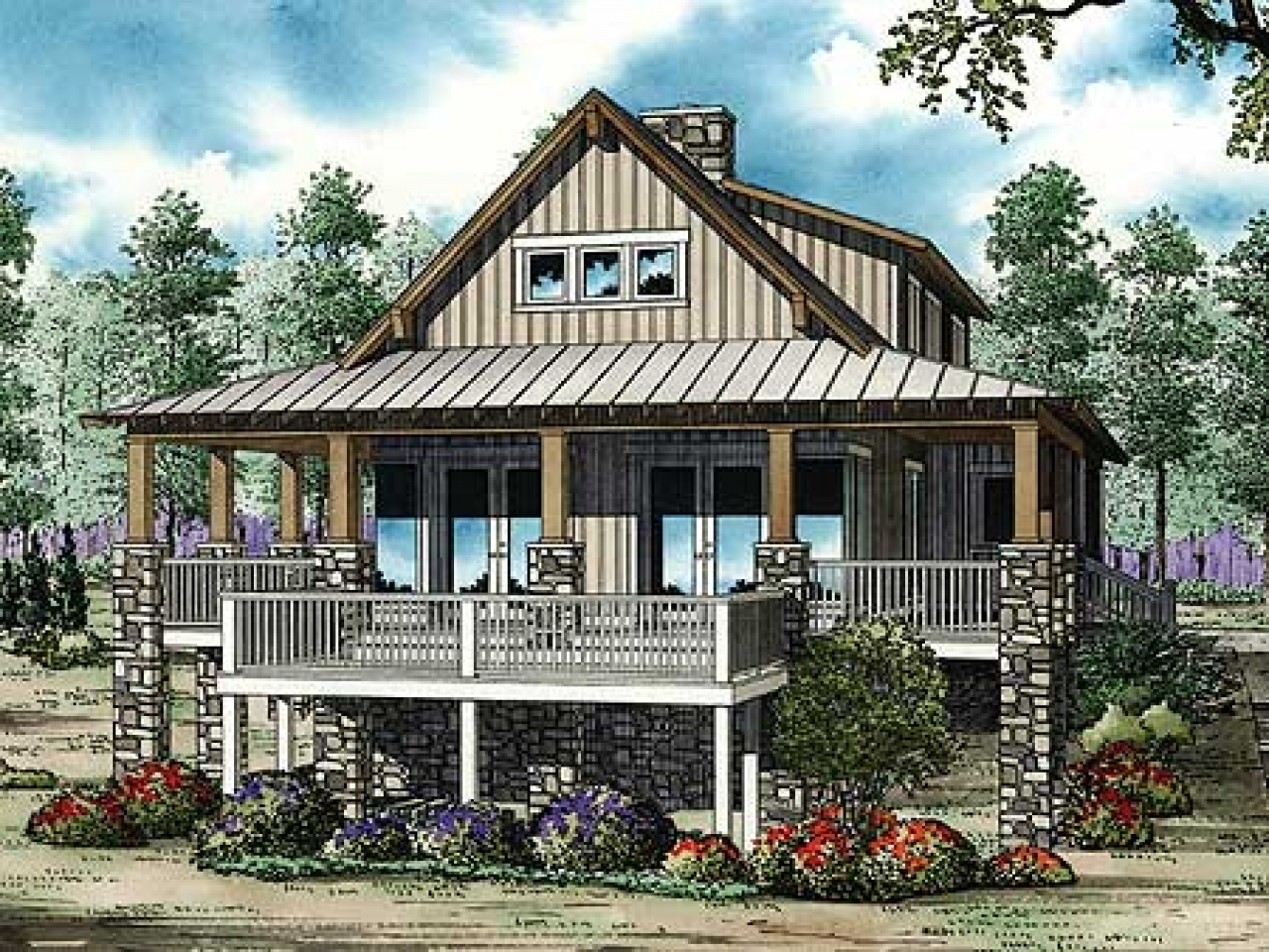 Low country cottage house plans low country cottage for Country cottage house
