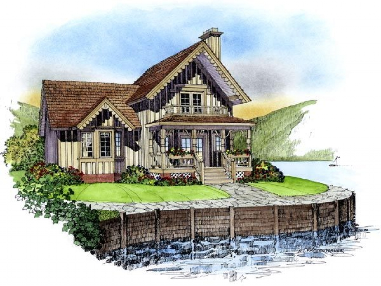 Country victorian house plans victorian carriage house for Victorian playhouse plans