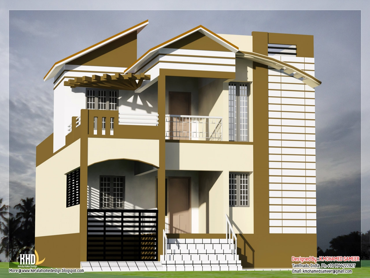 Indian house inner designs south indian house designs for Normal house plans photos
