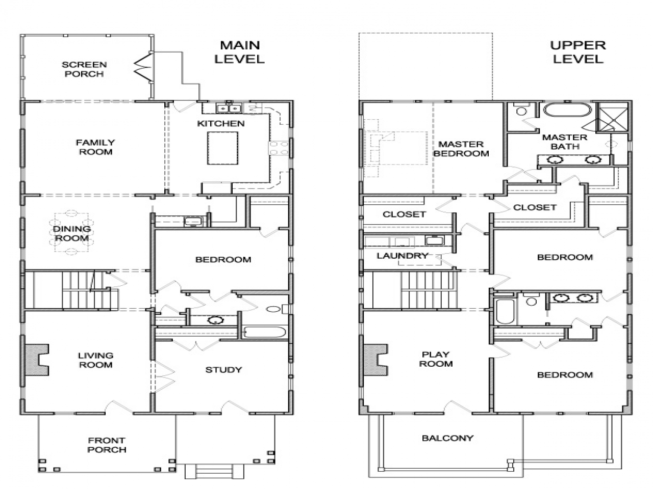 Houses Southern Colonial Dutch Colonial House Floor Plans