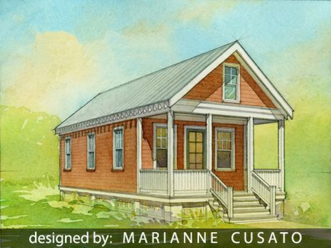 Katrina cottages costs katrina cottage plans with porches for Katrina house cost