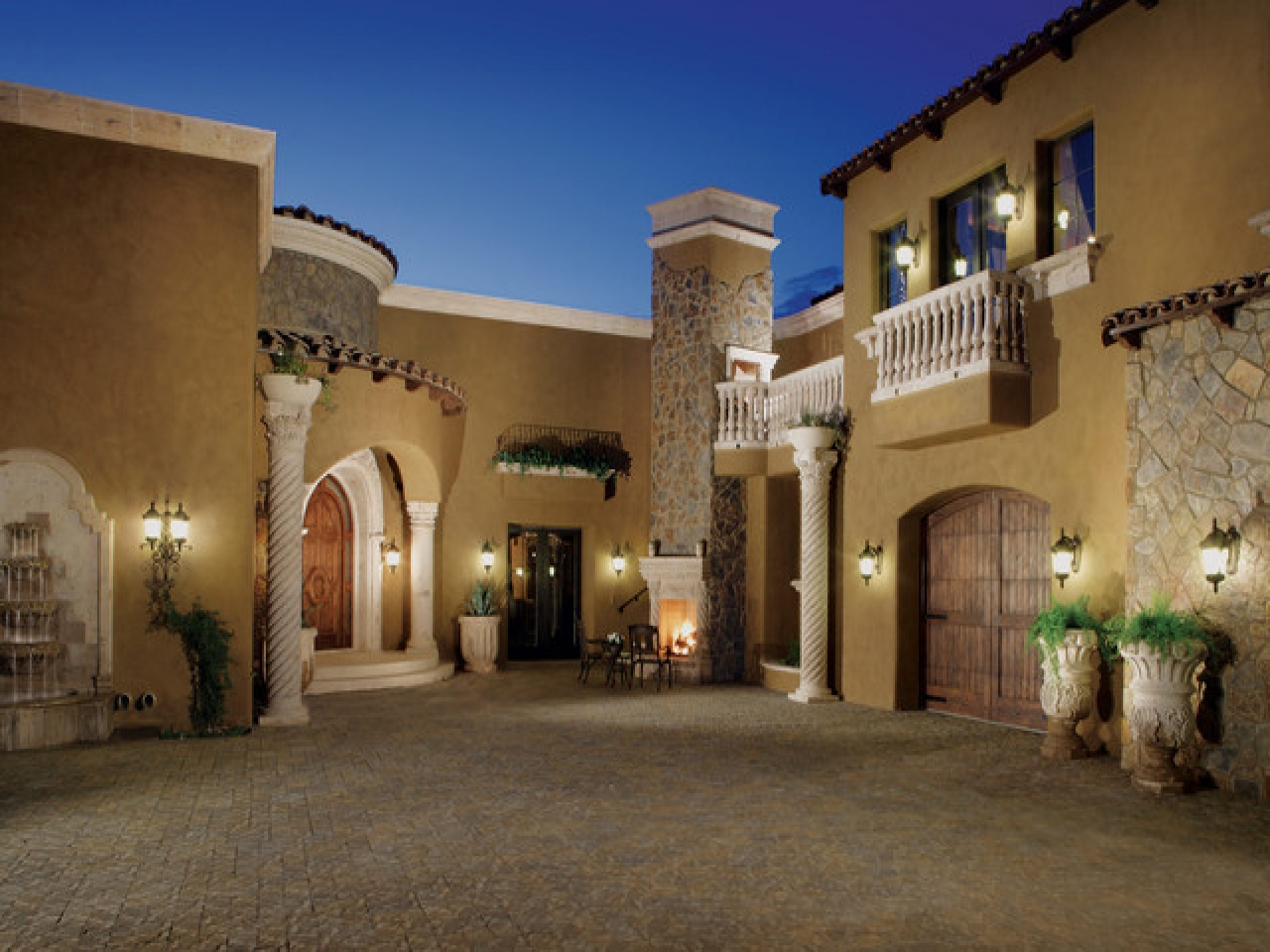 Mediterranean Exterior Paint Color Exterior Stucco